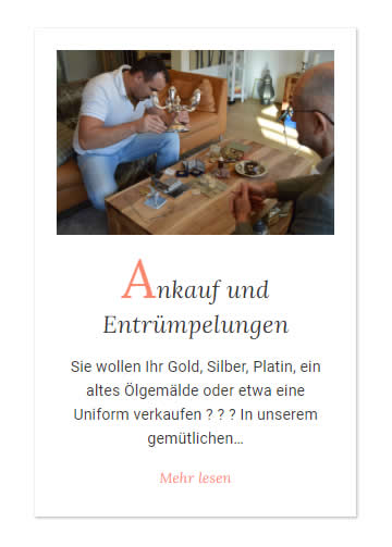 Ankauf Entrümpelungen aus 70173 Nord (Stuttgart)