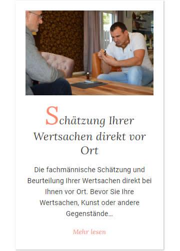 Wertsachen Schätzung in  Nord (Stuttgart)